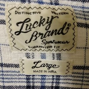 Lucky Brand Shirts - Lucky Brand Country Pearl Button Down
